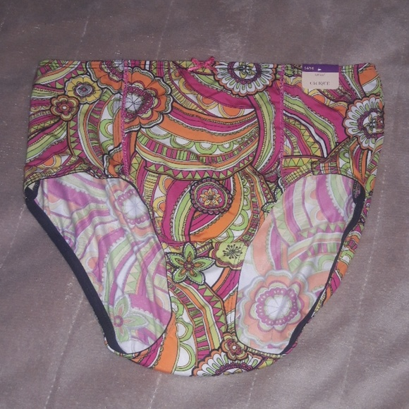 Cacique Other - Colorful Full Brief Panties NWT 14/16